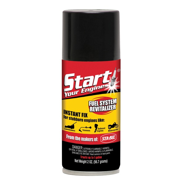 Picture of Gold Eagle Start Your Engines 21214 Fuel System Revitalizer, 2 oz Package, Can