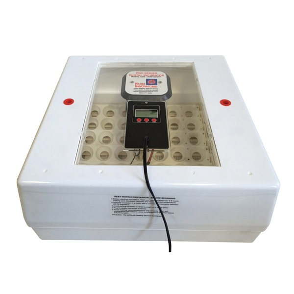 Picture of FARM INNOVATORS Pro Series 4250 Digital Incubator with Auto Egg Turner, 40 W, 41 Large Chicken Eggs Egg, Polystyrene