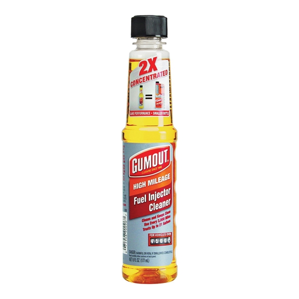 Picture of Gumout Regane 510013 Fuel System Cleaner Yellow, 6 oz Package, Bottle