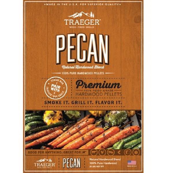 Picture of Traeger PEL314 Wood Pellet, Wood, 20 lb Package, Bag