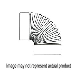 Picture of HANCOR 0390AA Drain Elbow, 3 in, Snap-Lock, 90 deg Angle, Polyethylene, Black