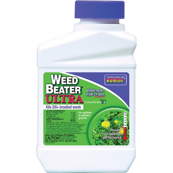 Picture of Bonide 309 Weed Killer, Liquid, Spray Application, 1 pt Package