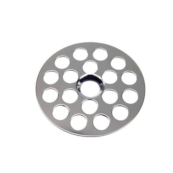 Picture of Danco 80061 Sink Strainer, 1-5/8 in Dia, Brass, Chrome, For: Universal Lavatory, Sink and Utility Tubs