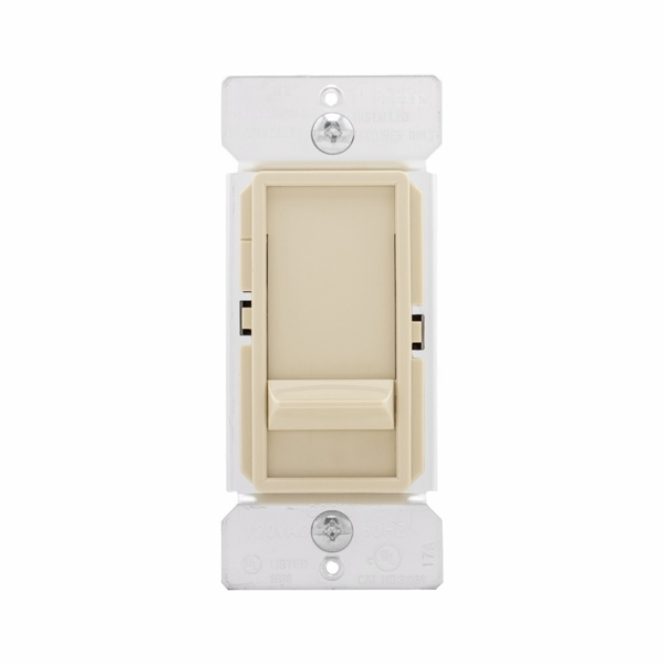 Picture of Eaton Wiring Devices SI061-W-K Dimmer, 120 V, 600 W, Incandescent Lamp, White
