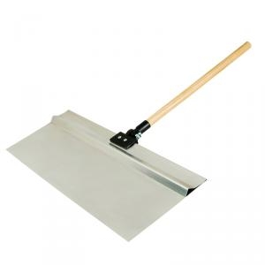 Picture of HYDE ProShield 28020 Spray Shield, 24 x 9 in Blade, Hardwood Handle, ACME Threaded Handle