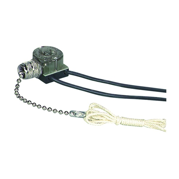 Picture of Eaton Wiring Devices BP458NP-SP Canopy Switch with Bell End, Lead Wire Terminal, 1/3/6 A, 125/250 V