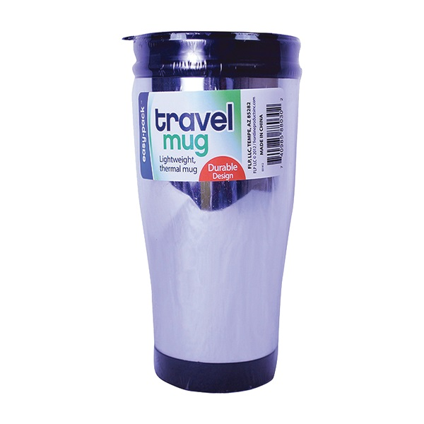 Picture of FLP Easy-Pack 8030 Thermal Travel Mug, 500 mL Capacity, Plastic, 6, Pack