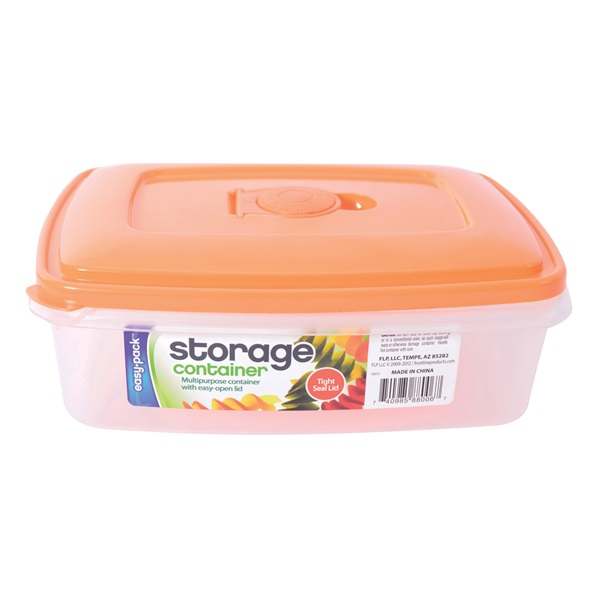Picture of FLP 8006 Storage Container with Vented Lid, 1 L Capacity, Plastic