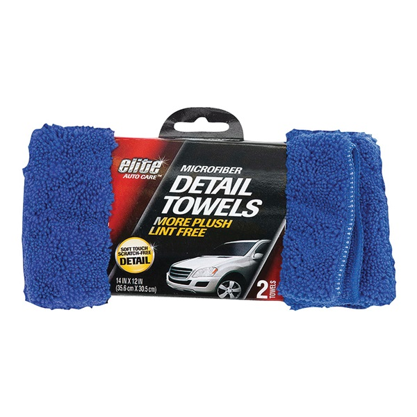 Picture of FLP 8902 Finish Towel, 14 x 12 in Capacity, Blue
