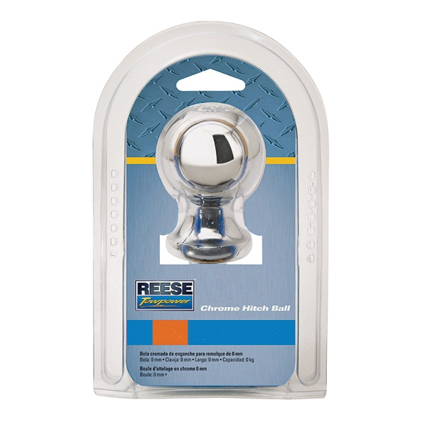 Picture of REESE TOWPOWER 74022 Hitch Ball, 1-7/8 in Dia Ball, 1 in Dia Shank, 2000 lb Gross Towing, Steel