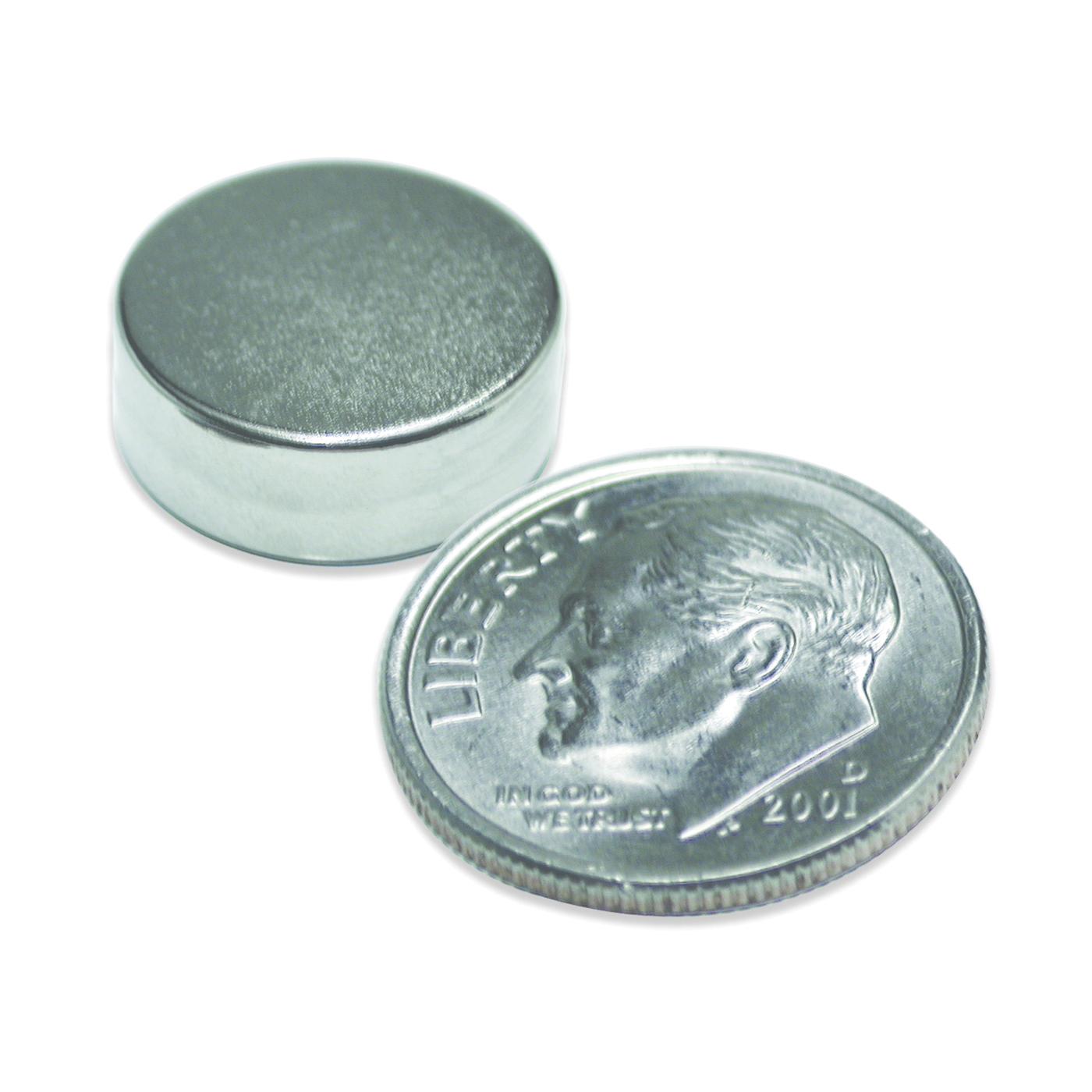 Picture of Magnet Source 07045 Super Magnetic Disc, Neodymium, 0.315 in Dia, 0.118 in H