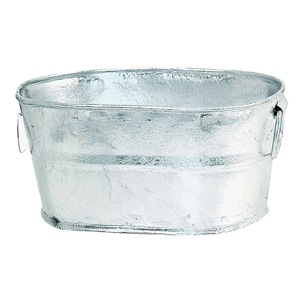 Picture of Behrens 0000-OV Wash Tub, 1 gal Capacity, Steel