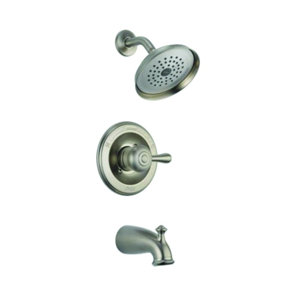 Picture of DELTA Leland 14478-SSSHL Tub and Shower Trim, Brass, Stainless Steel