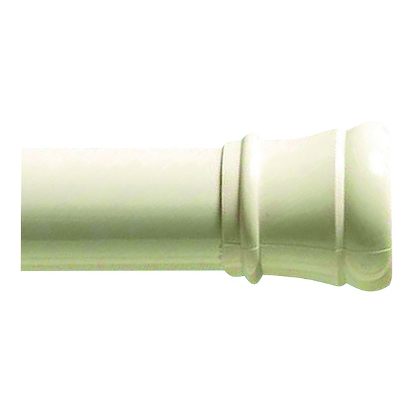 Picture of Zenna Home 608W/604W Shower Curtain Rod, 34-1/2 to 60 in L Adjustable, 1-1/4 in Dia Rod, Steel