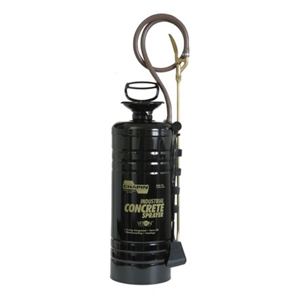 Picture of CHAPIN 1449 Compression Sprayer, 3.5 gal Tank, Steel Tank, 48 in L Hose, Black