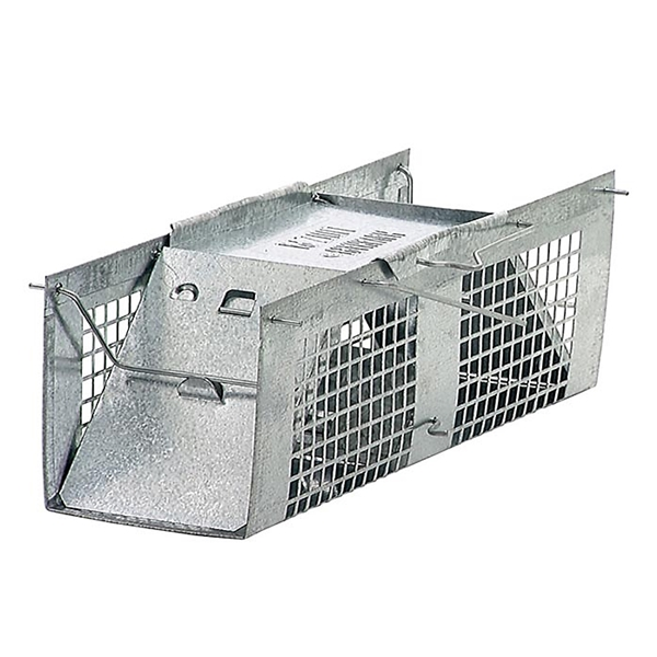 Picture of GENUINE VICTOR 1020 Animal Trap, 3 in W, 3 in H, Gravity-Action Door
