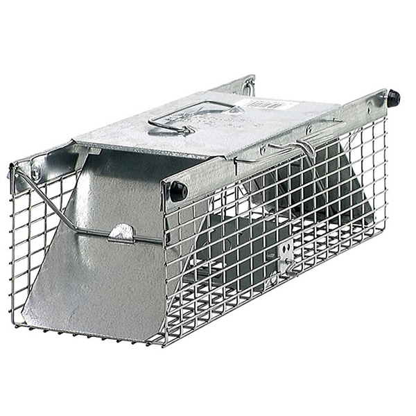 Picture of Victor 1025 Animal Trap, 7.22 in W, 5.76 in H, Spring-Loaded Door