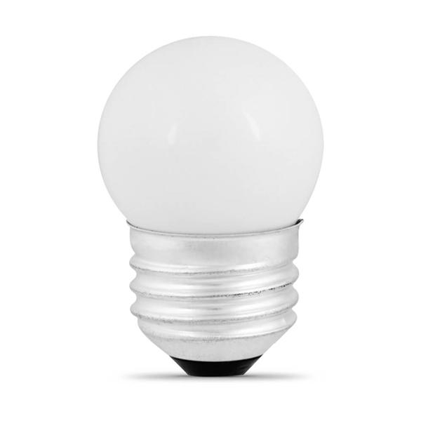 Picture of Feit Electric BP71/2S/CW Incandescent Lamp, 7.5 W, Medium E26 Lamp Base, 2700 K Color Temp, 3000 hr Average Life