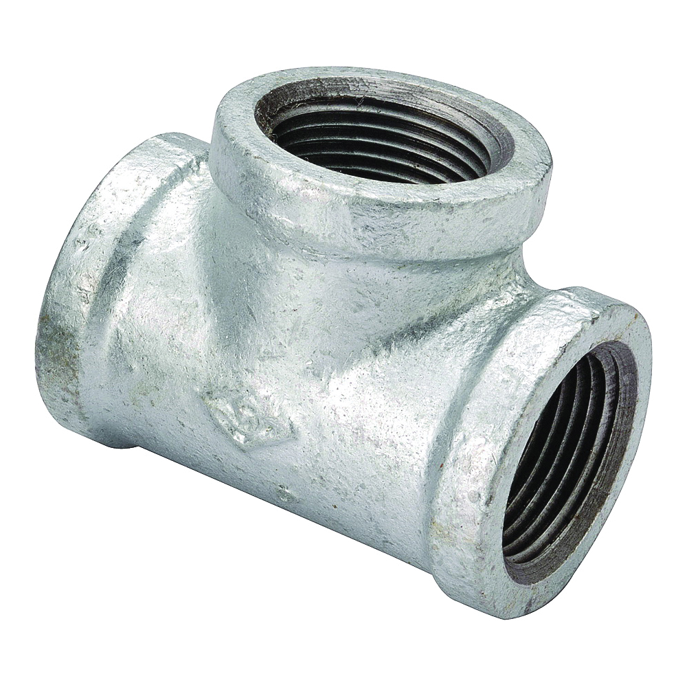 Picture of ProSource 11A-1/2G Galvanized Tee, 1/2 in, Threaded