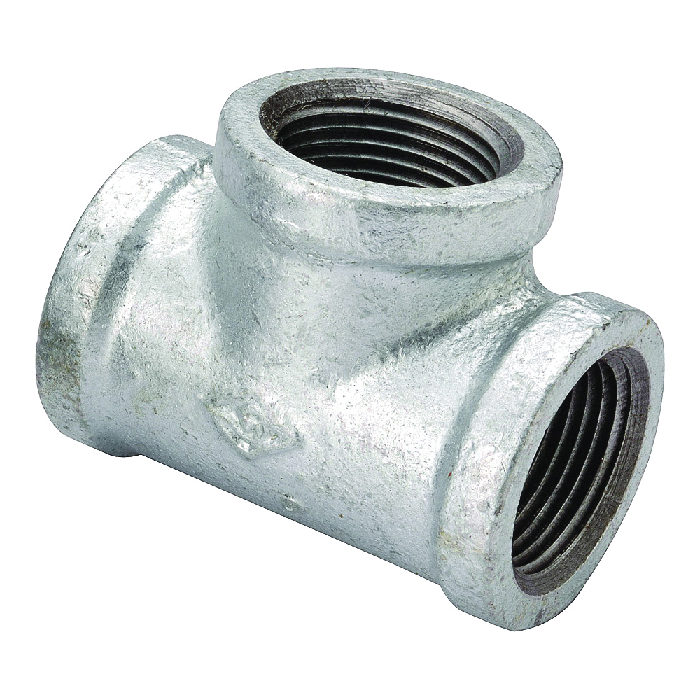 Picture of ProSource 11A-1G Galvanized Tee, 1 in, Threaded