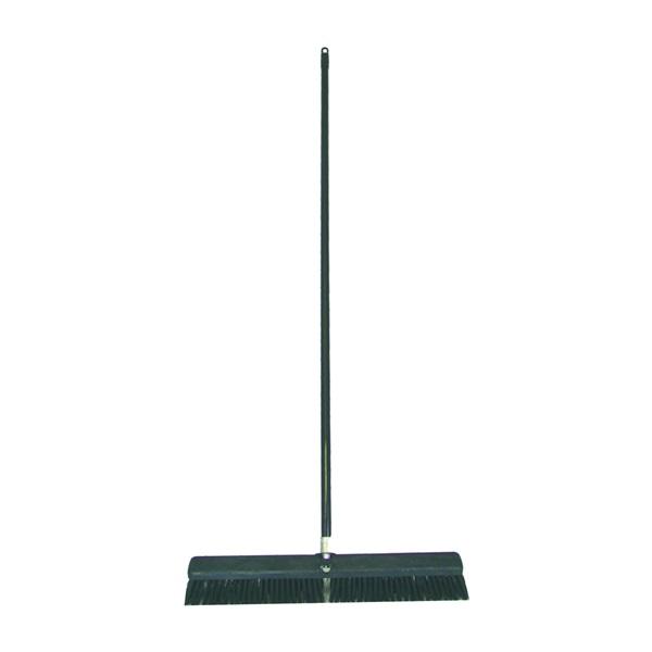 Picture of BIRDWELL 4027-4 Contractor Push Broom, 3 in L Trim, Polystyrene Bristle