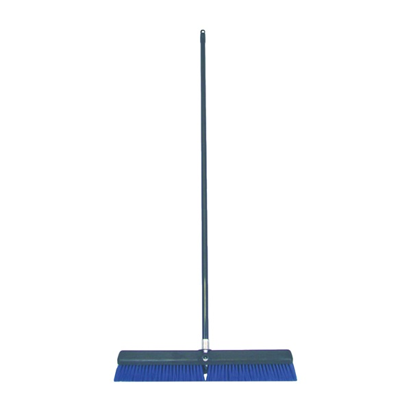 Picture of BIRDWELL 4028-4 Contractor Push Broom, 3 in L Trim, Polypropylene/Polystyrene Bristle