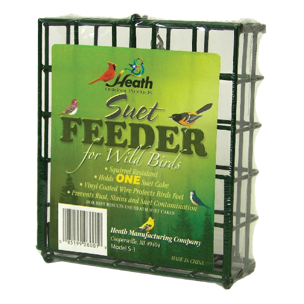 Picture of HEATH S-1-8 Single Suet Feeder, Metal