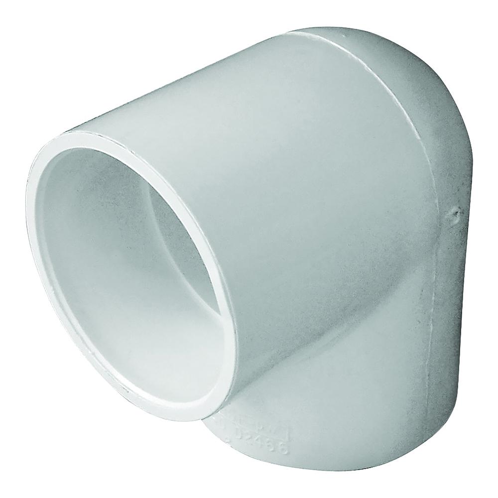 Picture of GENOVA 300 435524/30720 Pipe Elbow, 2 in, Slip, 90 deg Angle, PVC, White, SCH 40 Schedule
