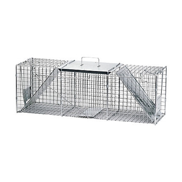Picture of Victor 1045 Animal Trap, 12 in W, 10 in H, Spring-Loaded Door