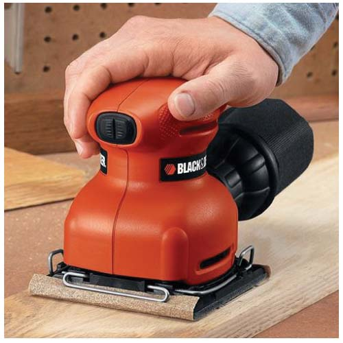 Picture of Black+Decker BDEQS300/QS900 Orbital Sander with Paddle Switch Actuation, 2 A