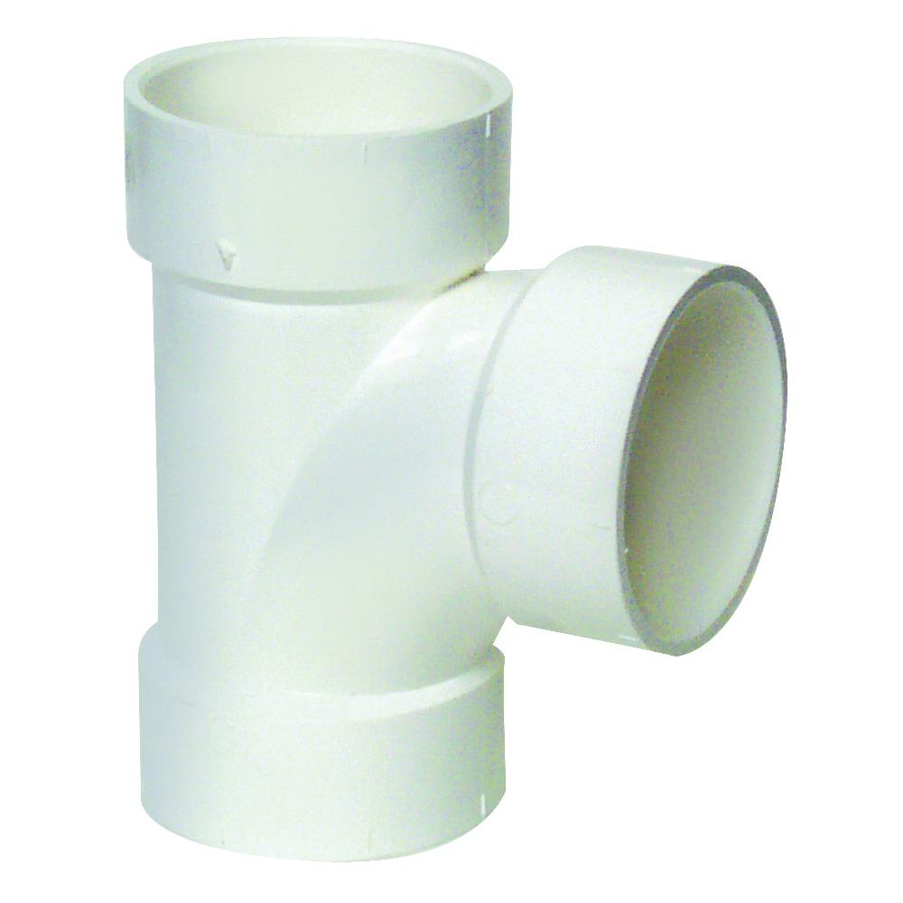 Picture of GENOVA 700 71130 Sanitary Tee, 3 in, Hub, PVC, SCH 40 Schedule