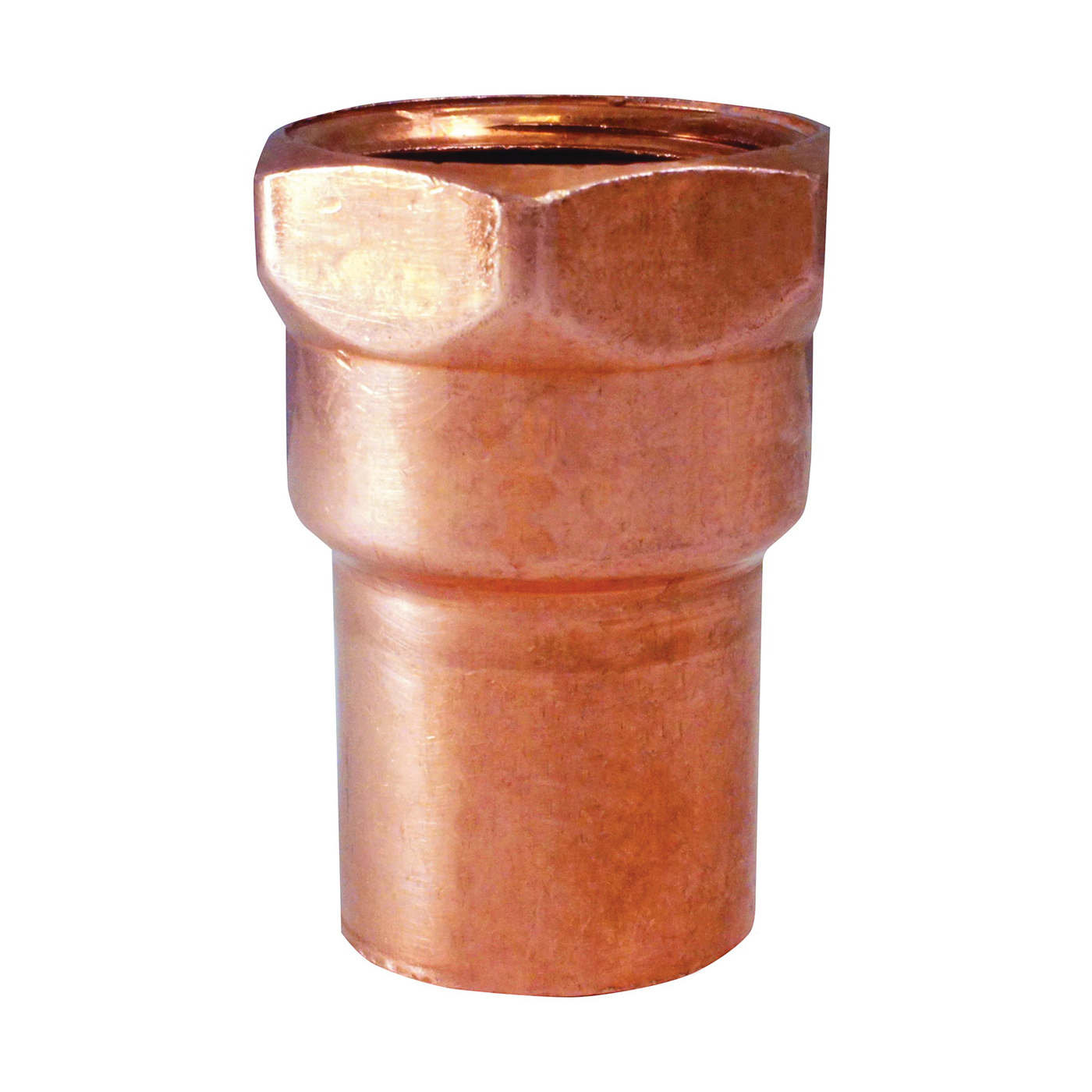 Picture of EPC 103 Series 30130 Pipe Adapter, 1/2 in, Sweat x FNPT, Copper