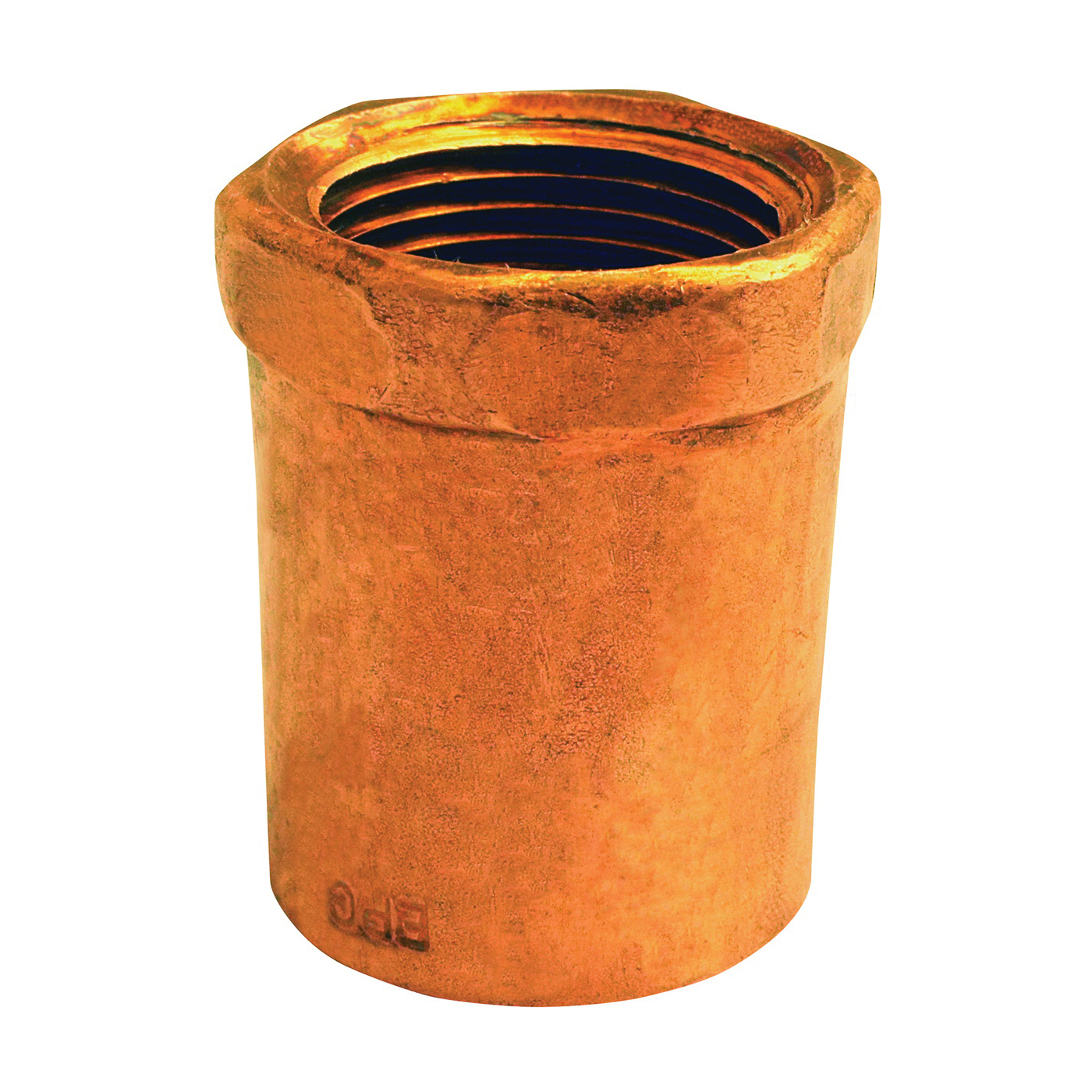 Picture of EPC 103R Series 30124 Reducing Adapter, 3/8 x 1/2 in, Sweat x FNPT, Copper