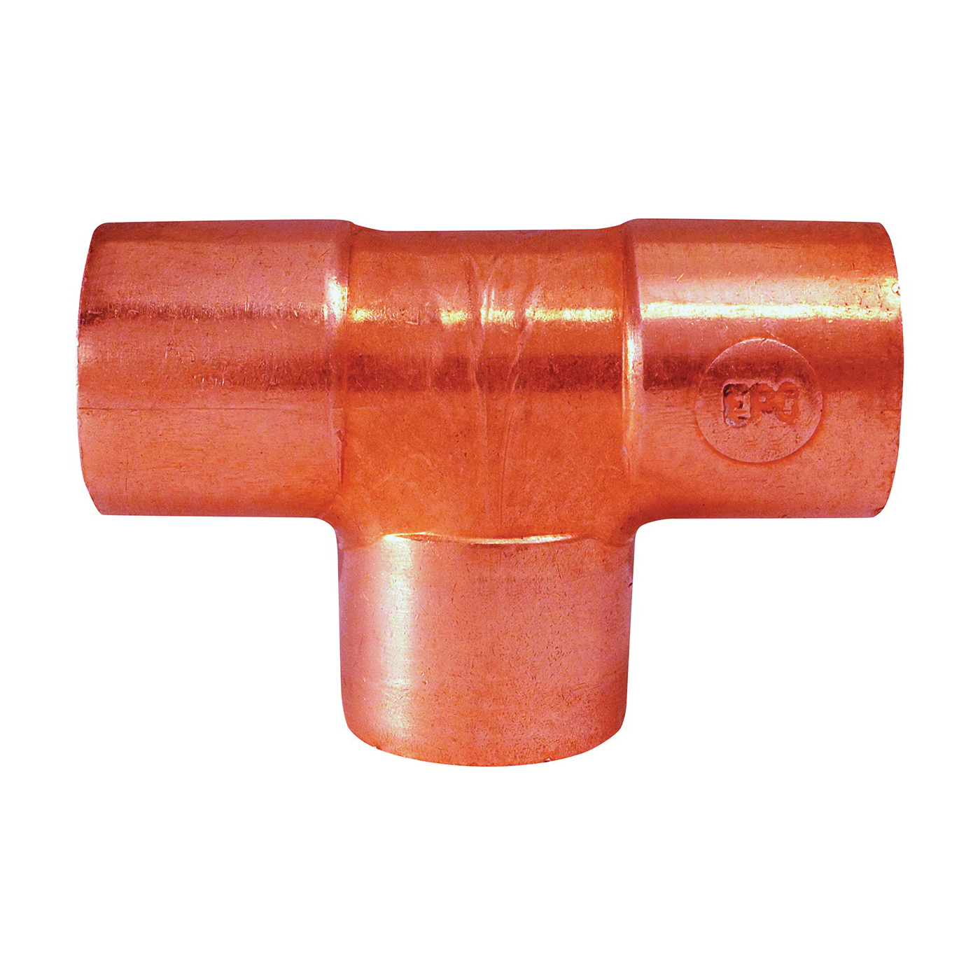 Picture of EPC 111 32768 Pipe Tee, 3/4 in, Sweat, Copper