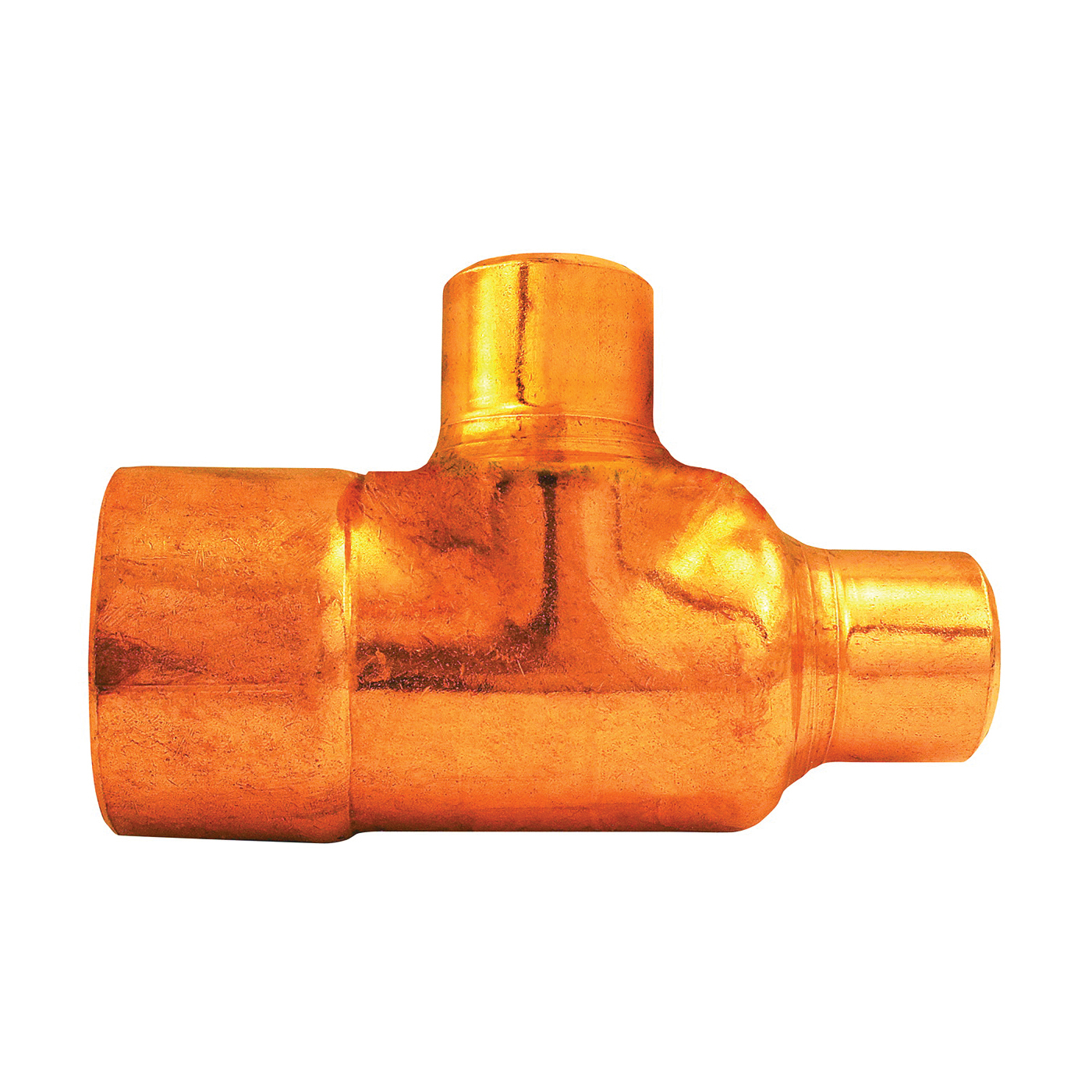 Picture of EPC 111R Series 32794 Pipe Reducing Tee, 3/4 x 1/2 x 1/2 in, Sweat, Copper