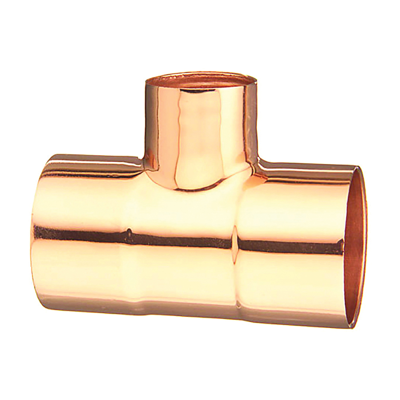 Picture of EPC 111R 32774 Pipe Reducing Tee, 3/4 x 3/4 x 1/2 in, Sweat, Copper