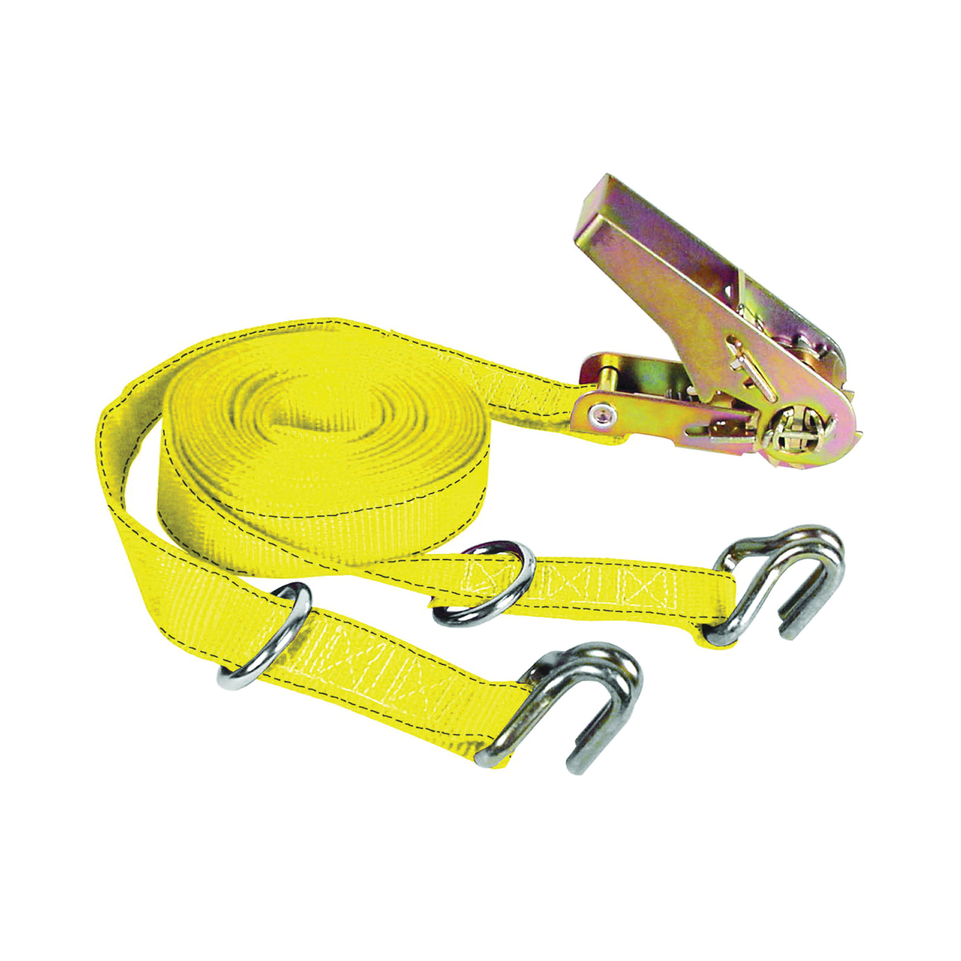 Picture of KEEPER 05516 Tie-Down, 1 in W, 16 ft L, 1000 lb, J-Hook End Fitting