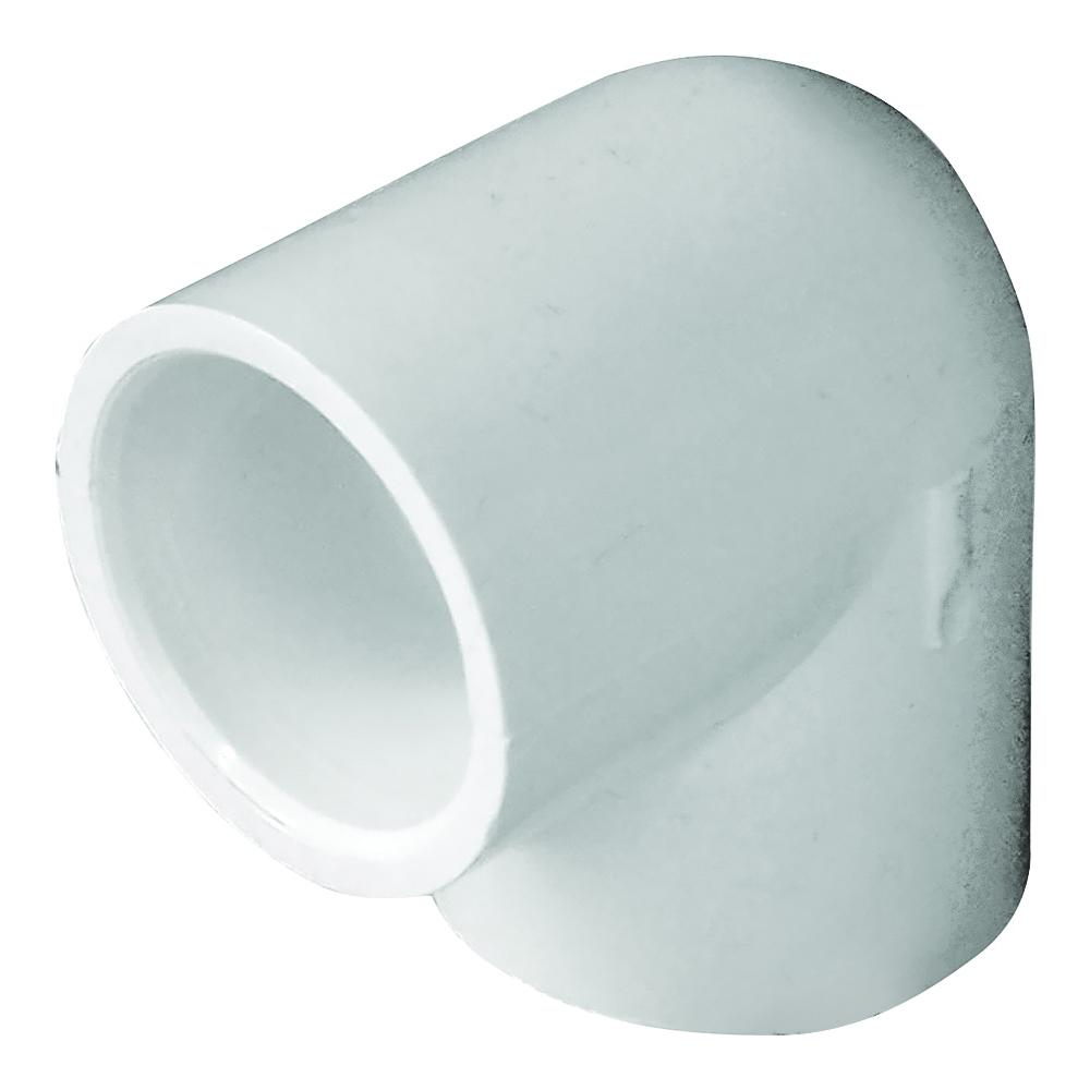 Picture of GENOVA 300 30707 Pipe Elbow, 3/4 in, Slip, 90 deg Angle, PVC, White, SCH 40 Schedule
