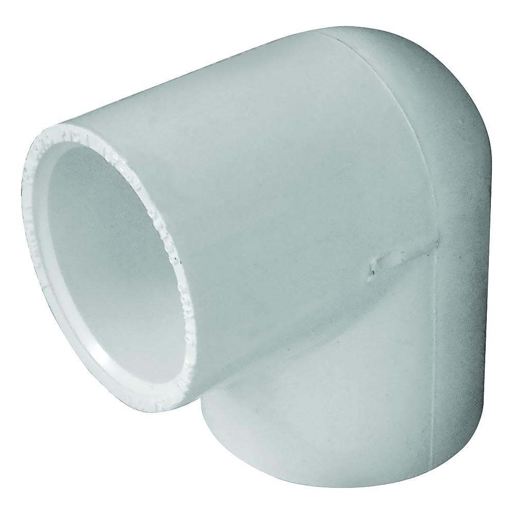 Picture of GENOVA 300 30710 Pipe Elbow, 1 in, Slip, 90 deg Angle, PVC, White, SCH 40 Schedule