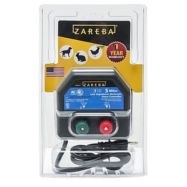 Picture of Zareba EA5M-Z Electric Fence Charger, 0.1 J Output Energy, 110/120 V