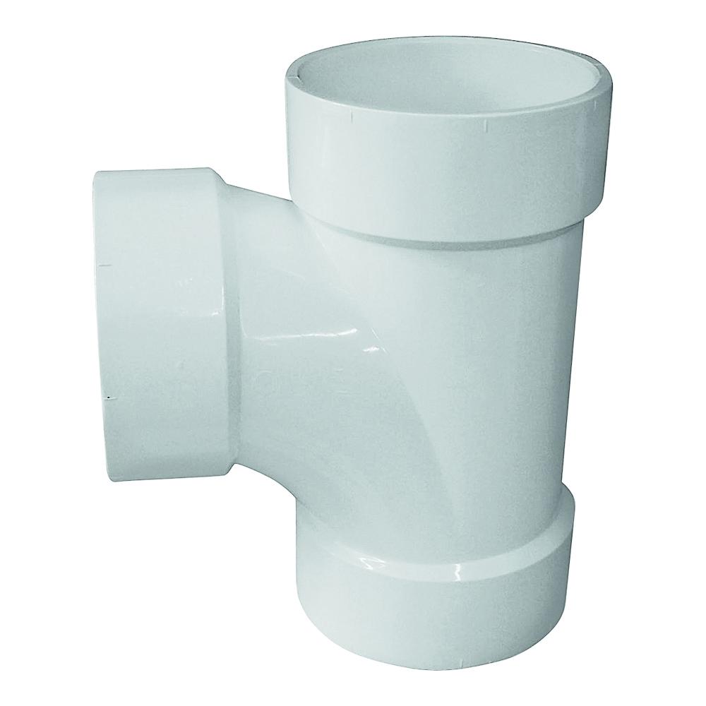 Picture of GENOVA 700 71140 Sanitary Tee, 4 in, Hub, PVC, SCH 40 Schedule