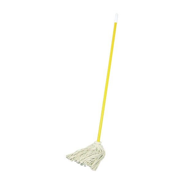 Picture of BIRDWELL 509-6 Mop Head with Swivel Cap, 48 in L, Cotton Mop Head