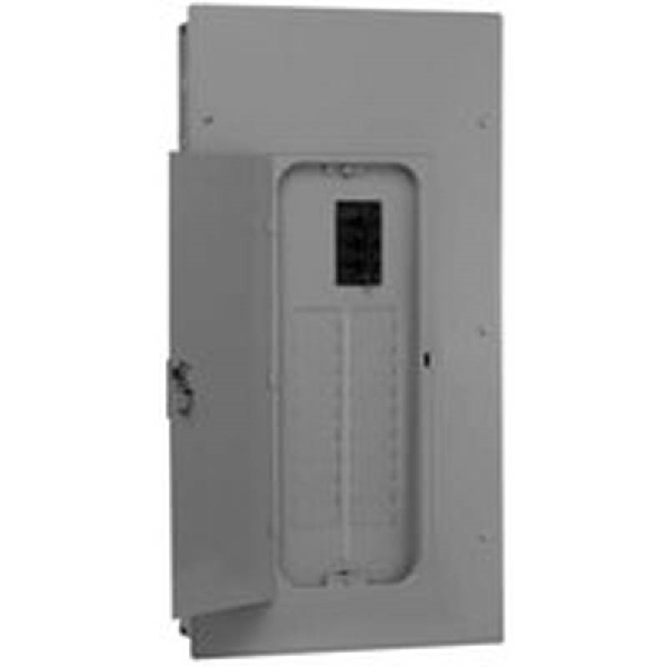 Picture of GE Industrial Solutions PowerMark Gold TLC812SCU Convertible Load Center, 125 A, 8-Space, 16-Circuit, Main Lug