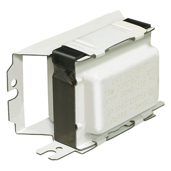 Picture of Philips Advance Comp-Covered LC1420CI Magnetic Ballast, 120 V, 21 W, 1-Lamp