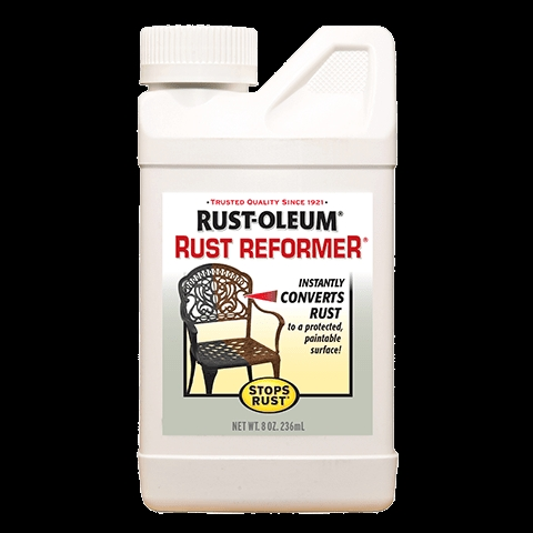Picture of RUST-OLEUM STOPS RUST 7830730 Rust Reformer, Liquid, Solvent-Like, Clear, 8 oz