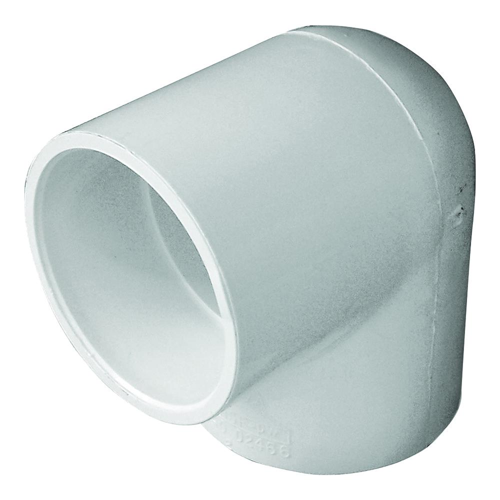 Picture of GENOVA 300 30740 Pipe Elbow, 4 in, Slip, 90 deg Angle, PVC, White, SCH 40 Schedule