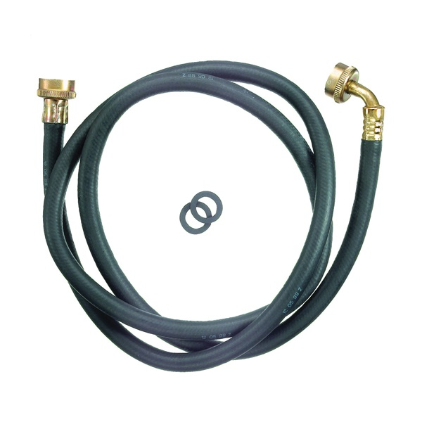 Picture of Plumb Pak PP850-6 Washing Machine Hose, 6 ft L, Female x Female Thread, Rubber