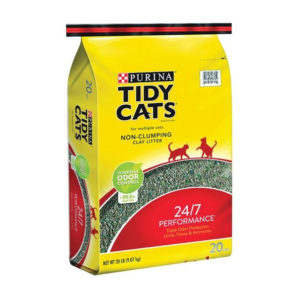Picture of Tidy Cats 7023010720 Cat Litter, 20 lb Capacity, Gray/Tan, Granular, Bag