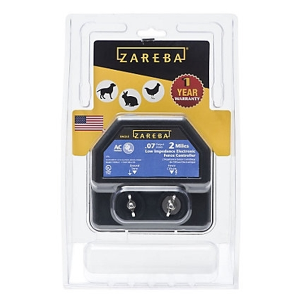 Picture of Zareba EA2M-Z Electric Fence Charger, 0.07 J Output Energy, 110/120 V