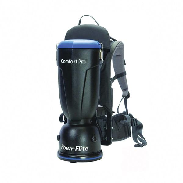 Picture of POWR-FLITE Comfort Pro BP6S Vacuum Cleaner, 6 qt Vacuum, 130 cfm Air, 62 dB, HEPA Filter, 1200 W, 120 V